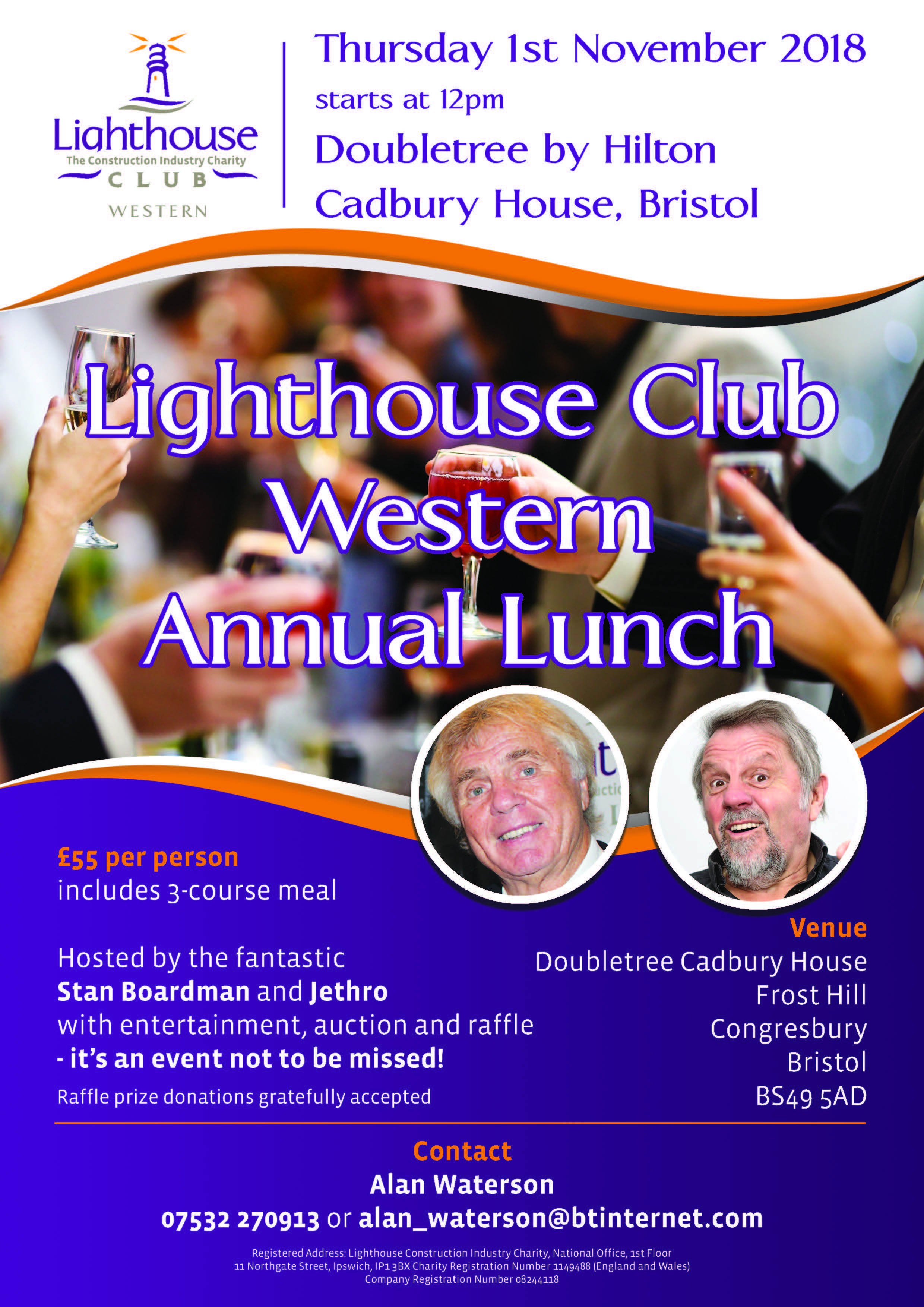 western branch annual lunch flyer 2018 lighthouse club