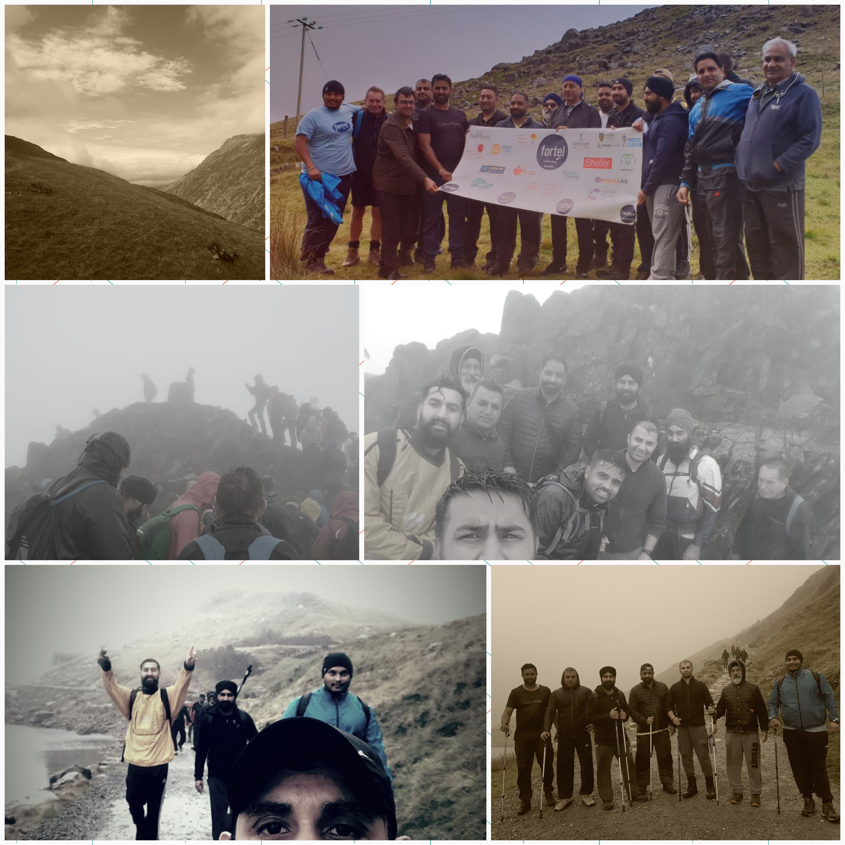 Climbing Mount Snowdon For The Lighthouse Club Charity