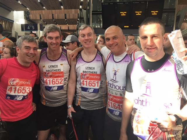 Our Magnificent Marathon men